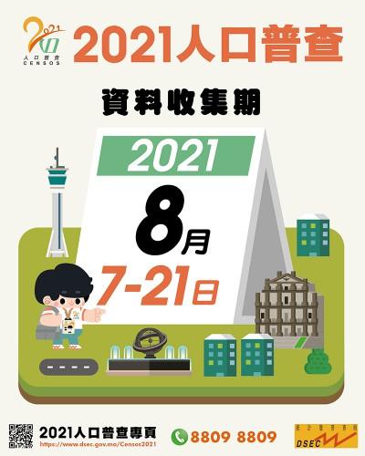 人口普查8月7日開展 呼籲網上填報或電話提供資料